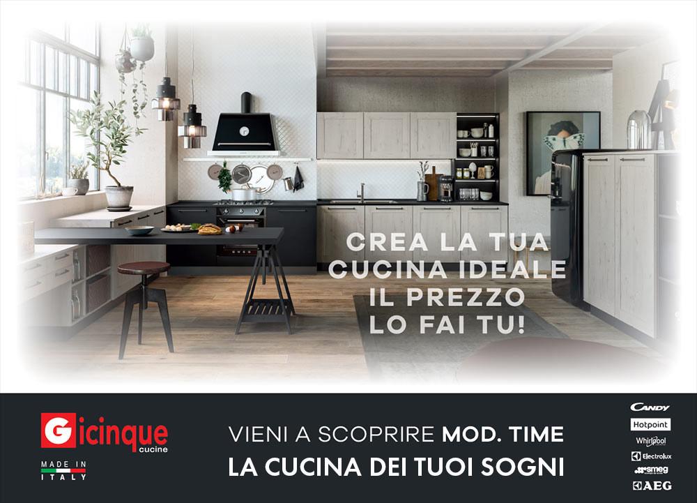 Gicinque: Cucine Moderne e Cassiche dal design Made in Italy