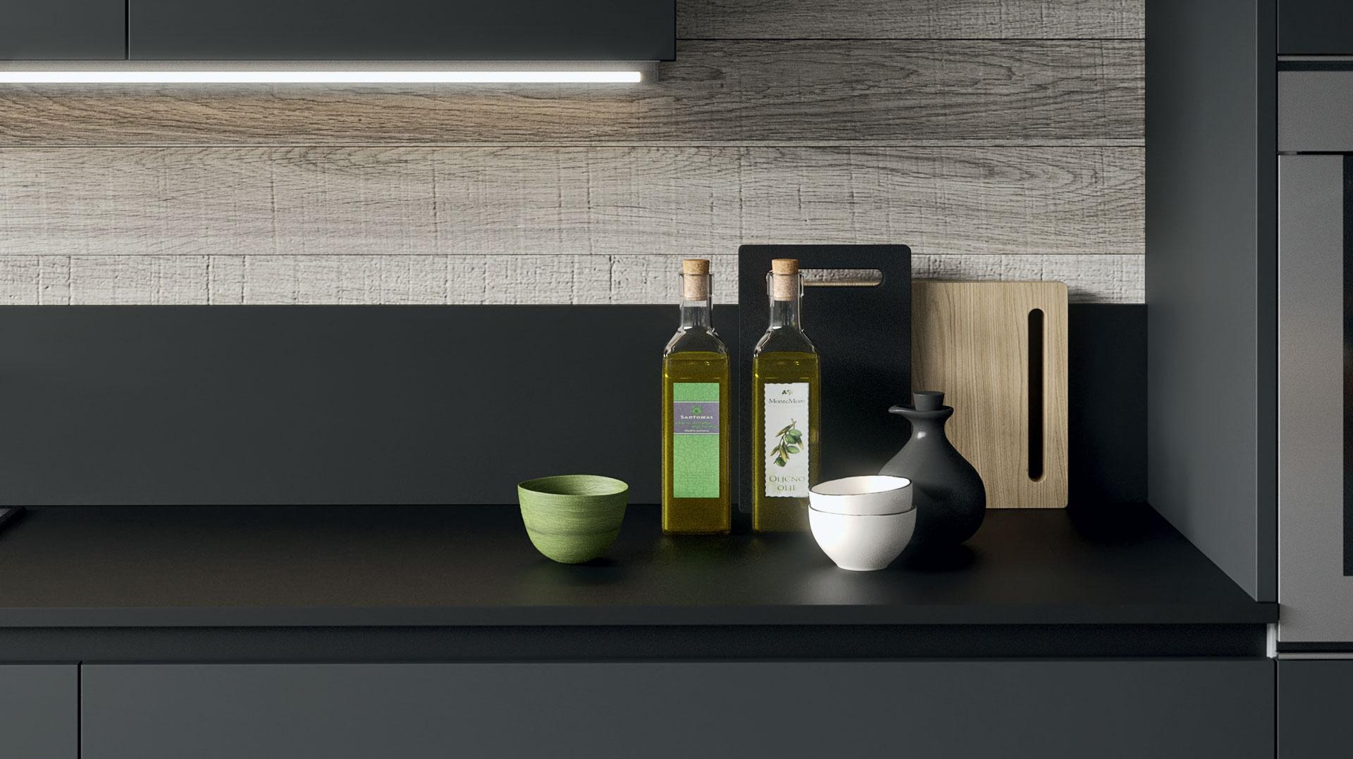 Cucine moderne de sign tecnologia ed eleganza gicinque - Top cucina fenix prezzo ...