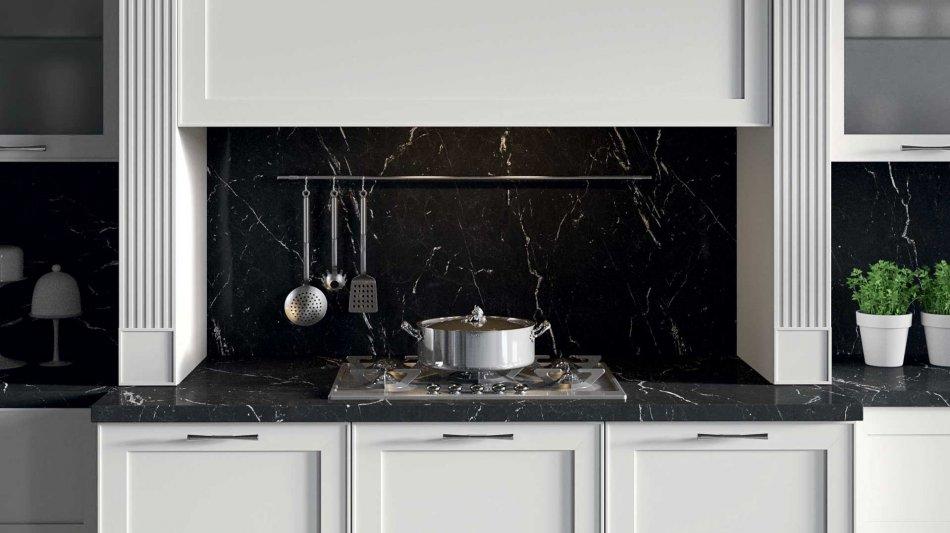 Cucina classica montecarlo eleganza e lusso gicinque - Top cucina porfido ...