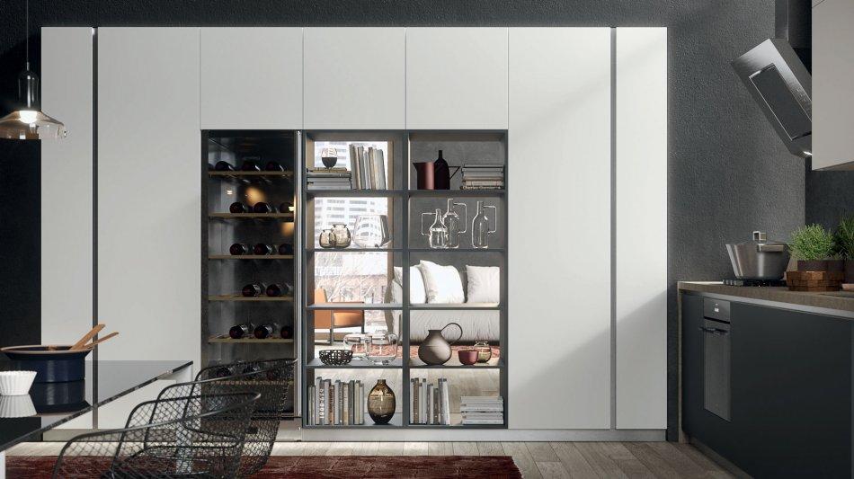 Vetrina Moderna Per Cucina.Cucine Moderne De Sign Tecnologia Ed Eleganza Gicinque