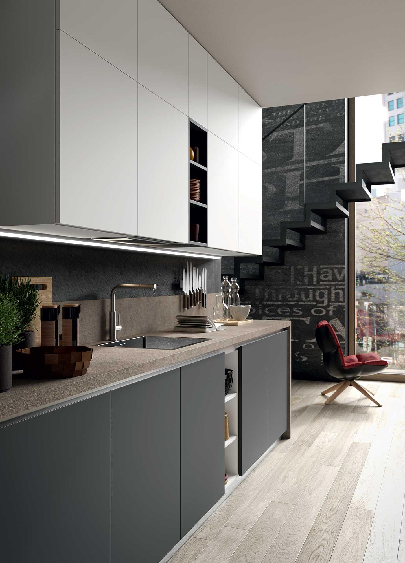 Cucine moderne de sign tecnologia ed eleganza gicinque - Cucine gicinque ...