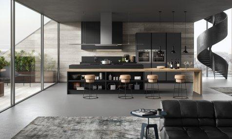 Cucine Moderne Grigio Antracite: Cucina Laccata Motus Sito ufficiale Scavolini.