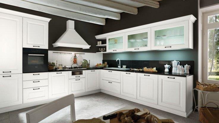 Gicinque: Cucine Classiche dal tocco Sofisticato ed Elegante